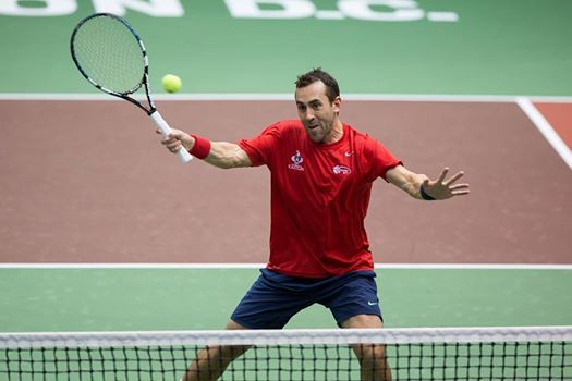 7/23/14 Via Washington #Kastles closer Bobby Reynolds broke Frank Dancevic on a 3-all point in the opening game, then won 16 of 19 points on his serve to take the first set 5-3.