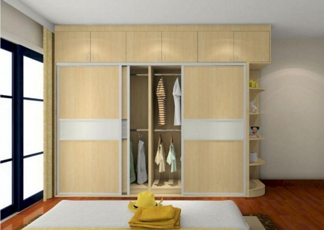 20 Fabulous Bedroom Cabinet Design That Look More Beautiful Teracee Wardrobe Design Bedroom Furniture Design Modern Cupboard Design