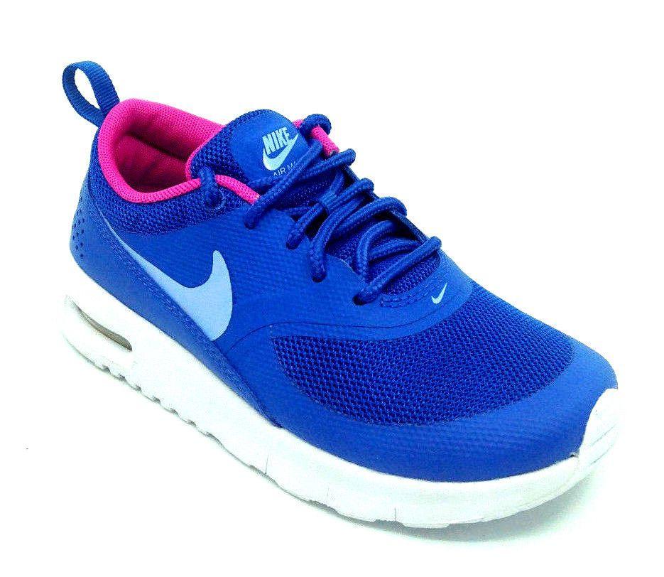 san francisco 78e40 2d8b3 eBay  Sponsored Nike Air Max Thea (PS) Girls Sneaker Comet Blue White  843746-404 Size 11.5C