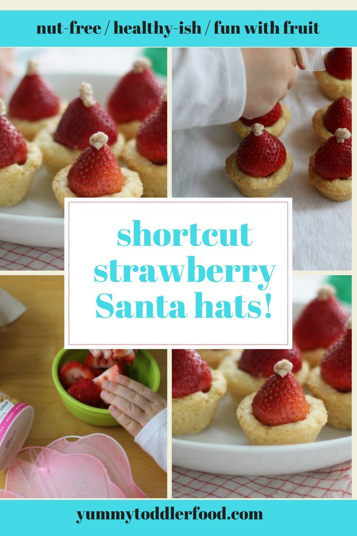 Quick Cookie Cups With An Edible Santa Hat Kid Desserts