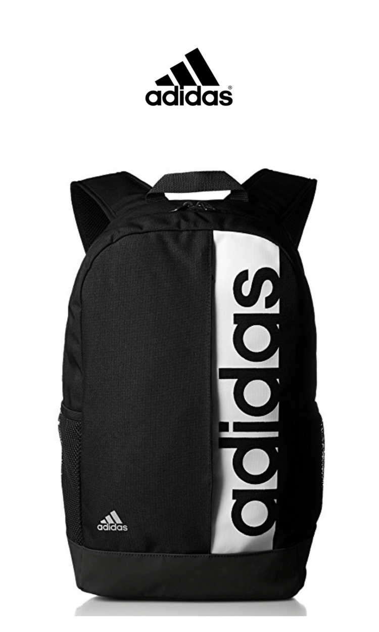 88dbdfc1bde Adidas Performance Linear Backpack | Black | Click for More Adidas  Backpacks!