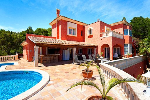first mallorca properties very privately located sea view villa