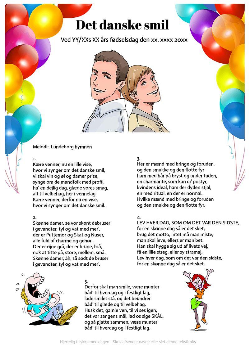 sjove sange til runde fødselsdage