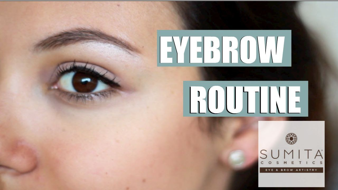 Eyebrow Tutorial Using The Sumita Brow Must Have Kit From Beauty