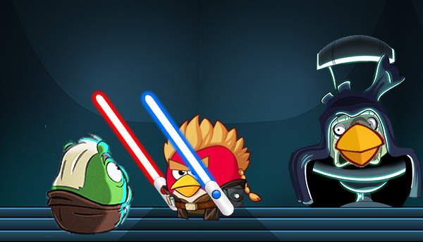 Anakin Skywalker Wants To Kill Count Dooku Also Senator Palpatine Darth Sidious Is Seeing Them And Is Star Wars Episode Ii Angry Birds Star Wars Star Wars Ii