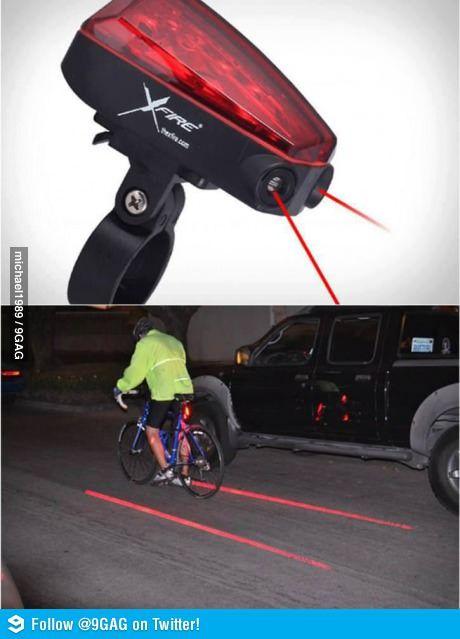 XFire bike lane laser.