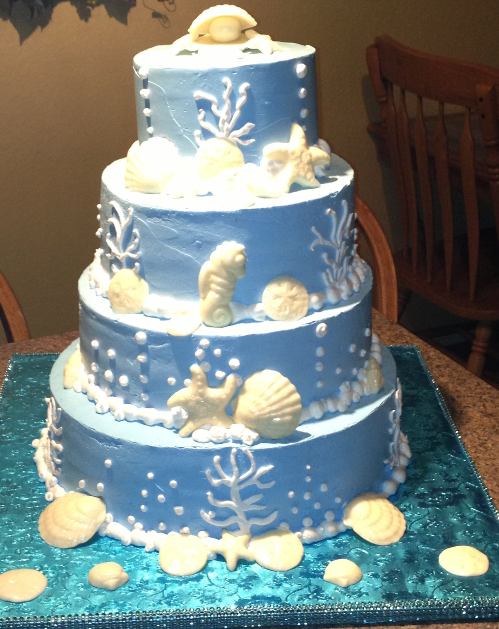 Under The Sea Cake for a Quince ;) (With images ...