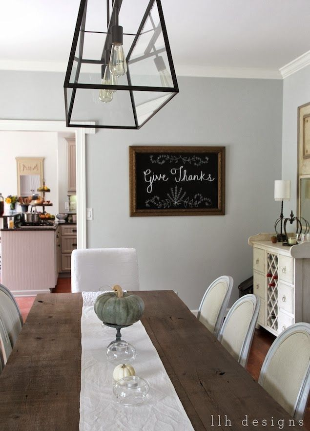 Wickham Gray Favorite Paint Colors Dining Room