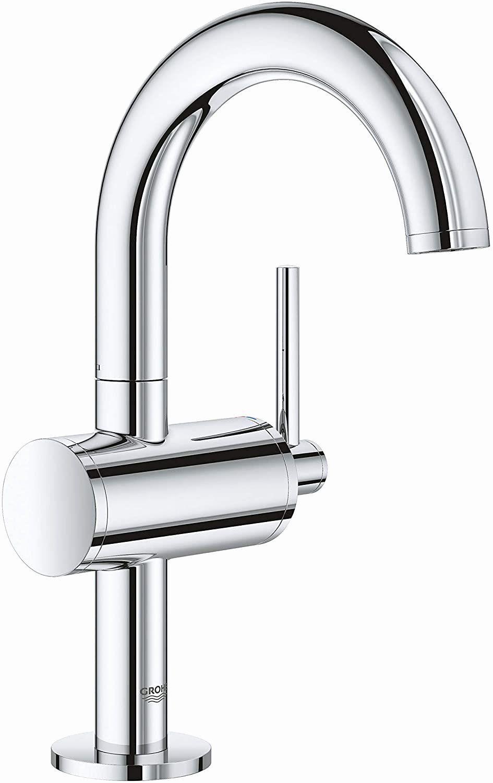 Single Handle Bathroom Faucet Elegant Grohe Atrio Single Handle Bathroom Faucet Atrio Bathroom Eleg In 2020 Single Handle Bathroom Faucet Bathroom Faucets Faucet