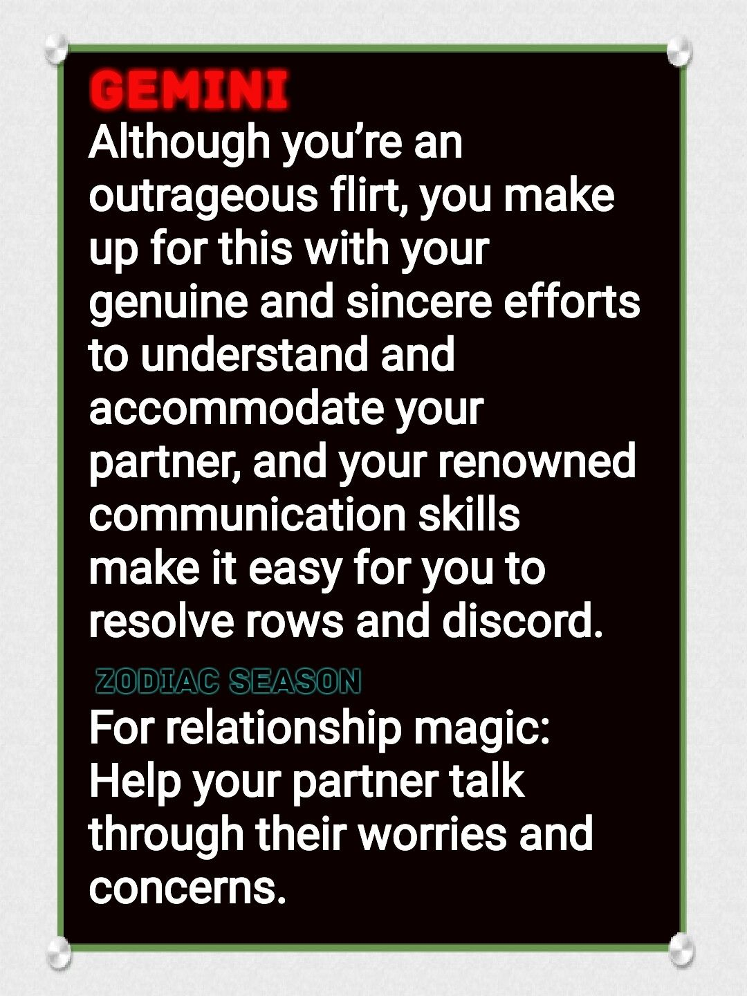 GEMINI | what is your zodiac sign like in relationships? | Zodiac