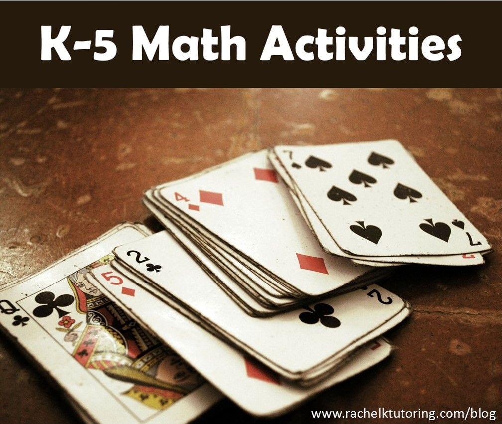 K-5 Math Activities   Math activities, Math and Activities