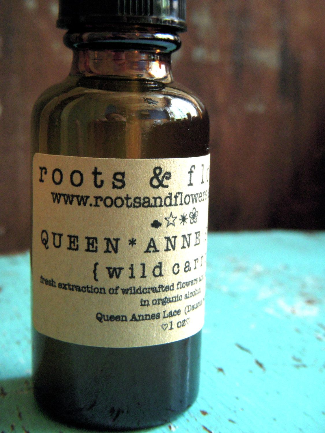 Queen Anne's Lace Contraceptive Tincture 1 oz Wild Carrot