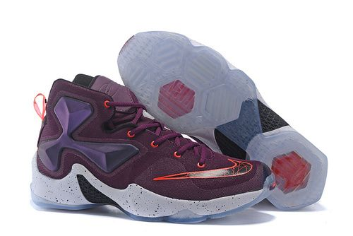Air Lebron James XIII Purple Women Sneakers  4fd717ea50