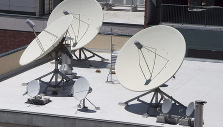 You can build a simple radio telescope from a satellite dish