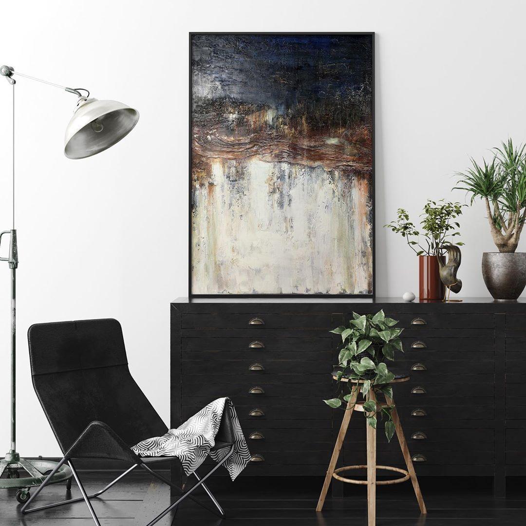 "WILD BRUSH Art on Instagram: ""Grunge⚡️ . #wildbrushart . #abstract #acrylicpainting #paintingoftheday #wallartdecor #arte #painting #abstractartist #artoftheday…"""