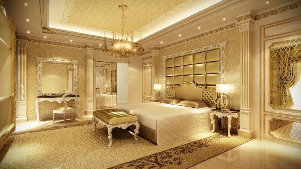 Luxurious Dream Home Master Bedroom Suite Seating Mansion Real Estate