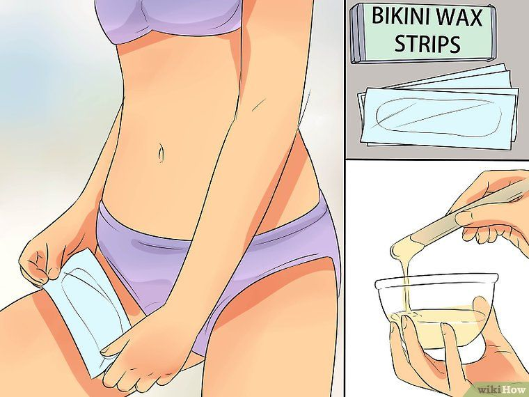How To Wax Your Bikini Area At Home With Pictures Bikini Area Bikini Wax Waxing Bikini Area