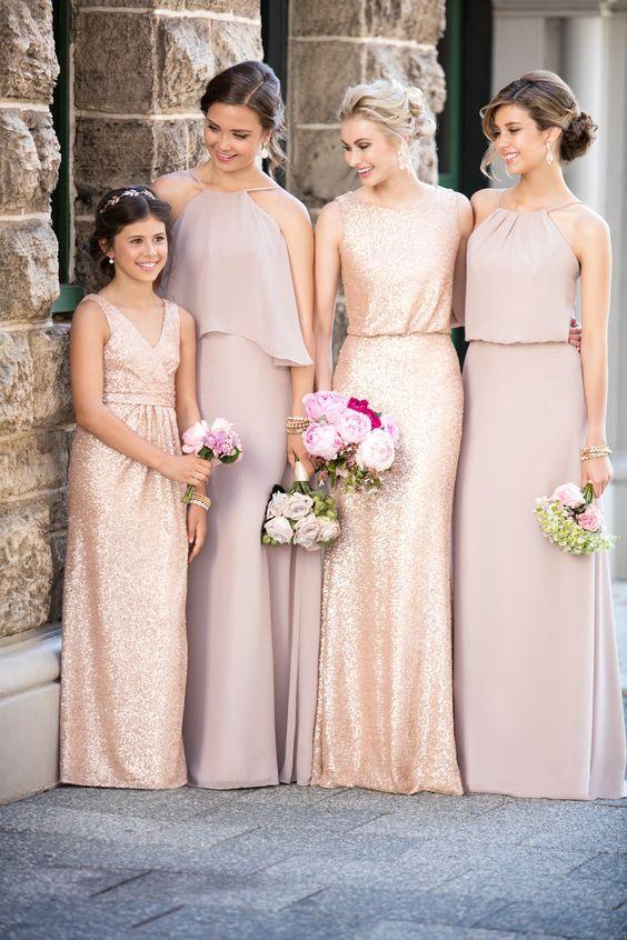 Vestidos para damas de honor pinterest