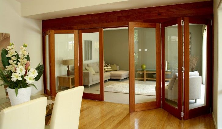 M U0026 B   Alfresco Doors Gallery   Use Of Timber Bifold Doors Internally  Giving You The Option To Open And Close Off Spaces In Your Home Depending  On How You ...