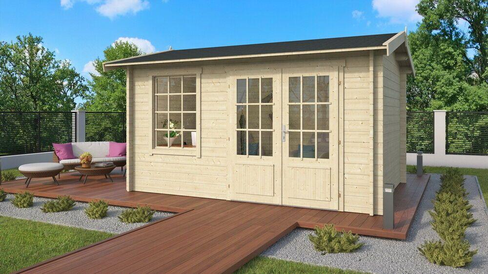 eBay Sponsored Topgarden Gartenhaus KIRA; 400x300 cm ISO
