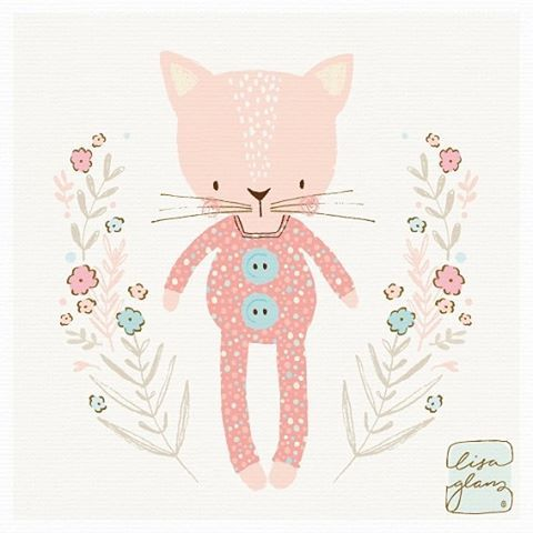 I just discovered that kitties look good in onesies! 😃 #illustrator #illustration #vectorart #graphics #vector #sketch #kitty