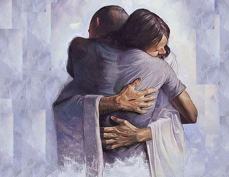 Joven Abrazo De Dios Buscar Con Google Abrazo De Dios Relacion Con Dios Imagenes De Abrazos