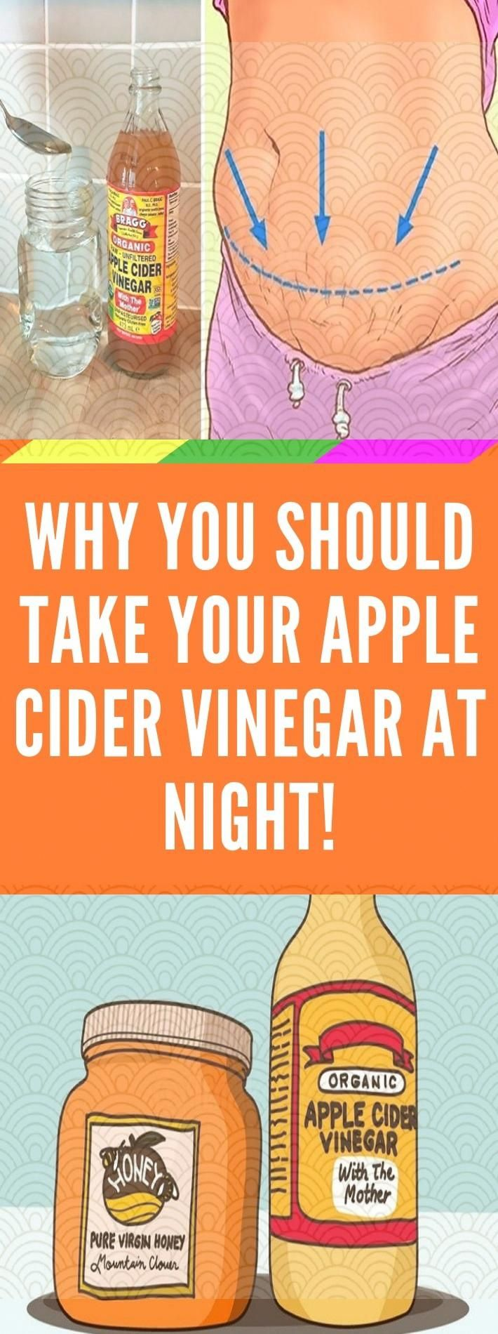How Taking Apple Cider Vinegar at Night Offers Amazing Benefits? #applecidervinegarbenefits