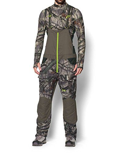 7c7b30764 Hunting- Under Armour Men's UA Scent Control Barrier Bib Large Mossy Oak  Treestand ** Click image for more details.