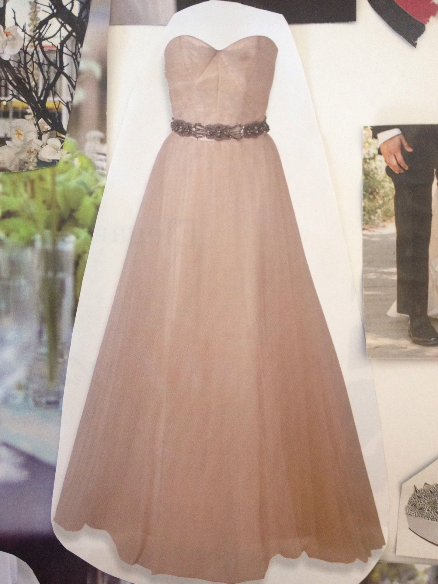 Pretty color and cute style and belt for bridesmaid dress ...
