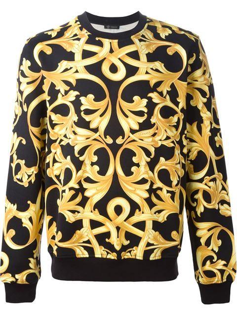 2c83ce149cf VERSACE Baroque Sweatshirt.  versace  cloth  sweatshirt