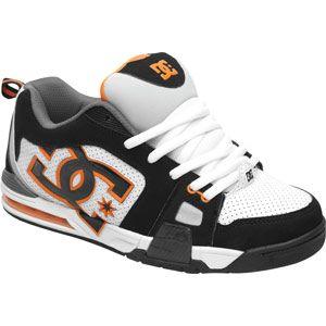DC Shoes Frenzy Shoe Black/White/Orange