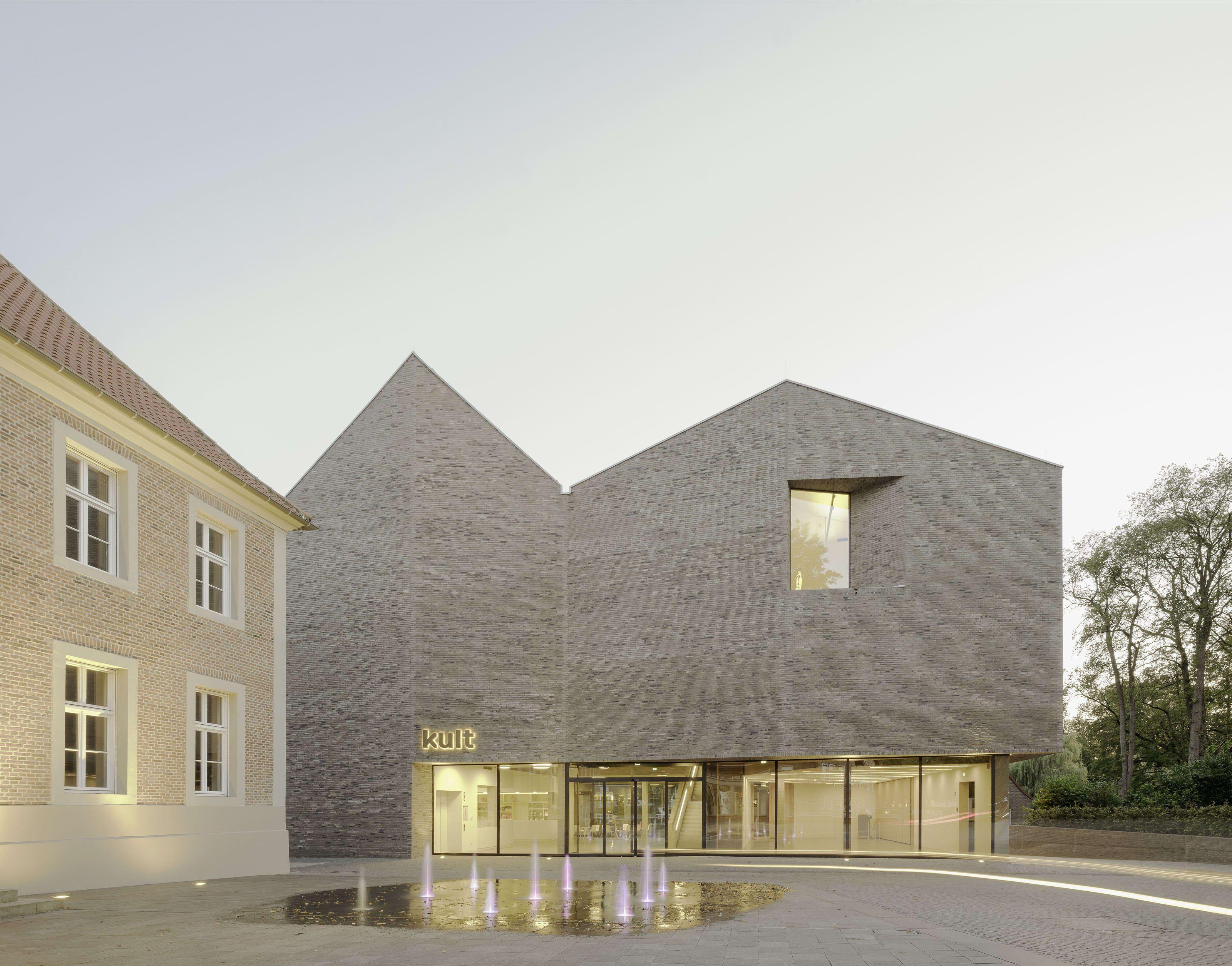 Architekt Emsdetten kult pool leber architekten vreden germany 01 01 modern