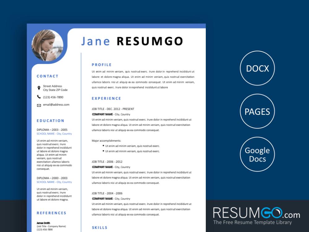 Cymone Modern Yet Professional Resume Template Resumgo Com Resume Template Resume Template Professional Modern Resume Template