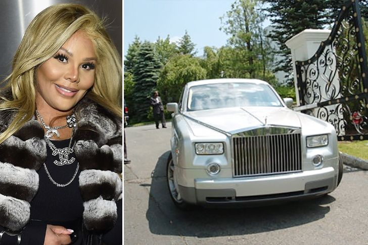 Photo of Lil' Kim Rolls Royce Phantom - car