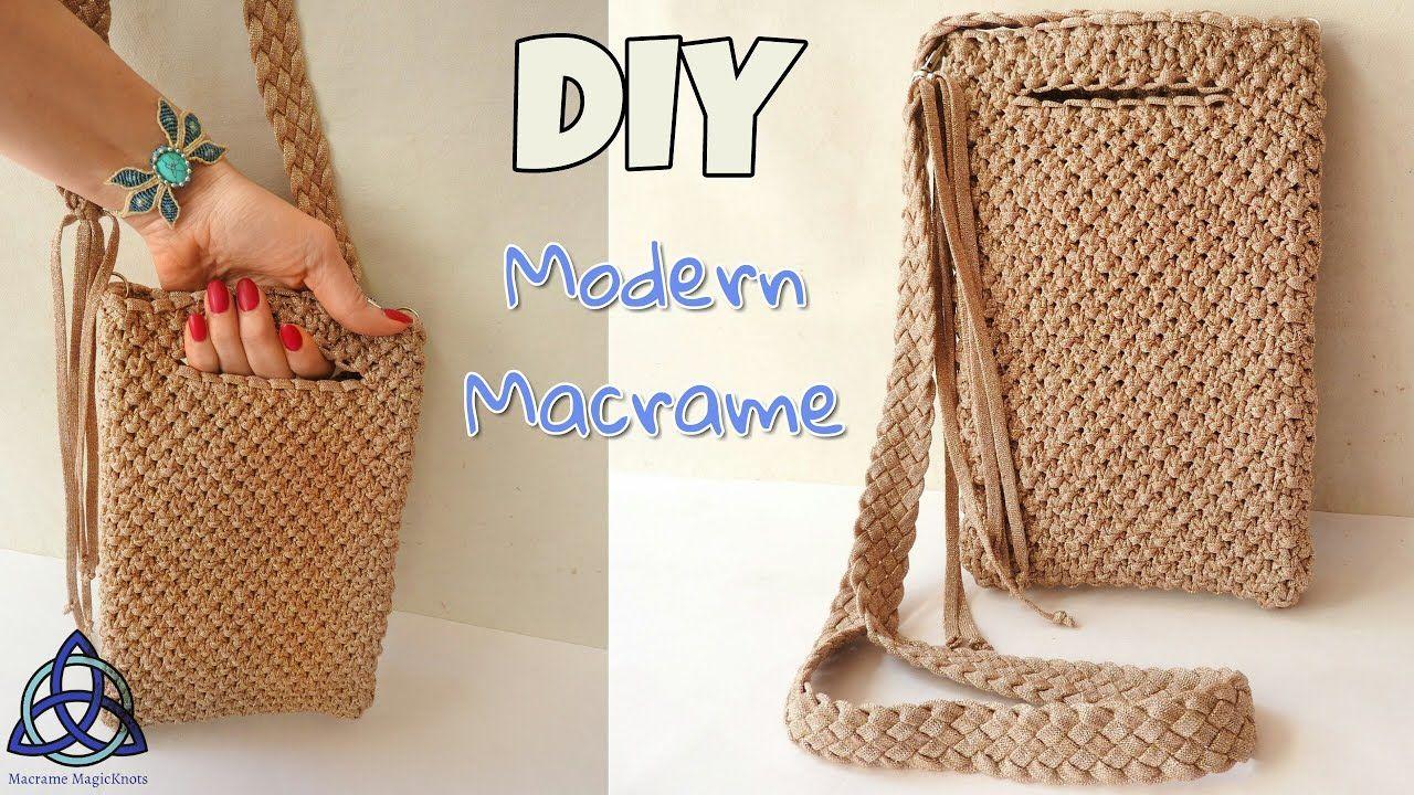 Macrame Bag Bags Tutorial Purse