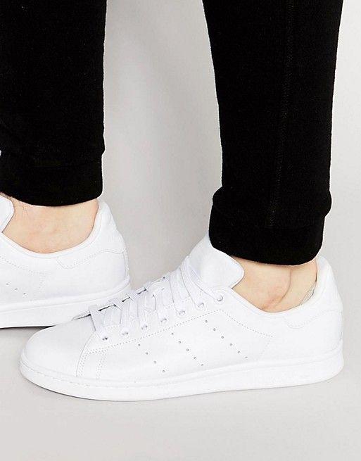 Stan Smith Trainers In White S75104 - White adidas Originals i91re2t
