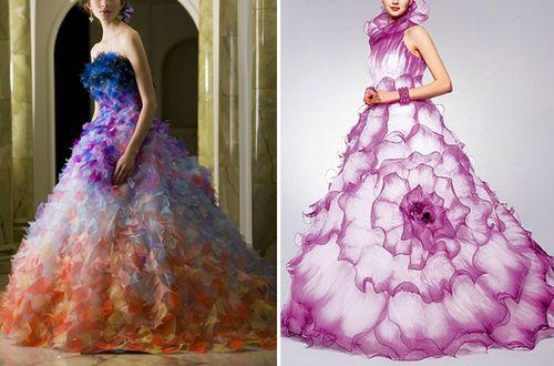 Haute Wedding Gowns Haute Couture Japanese Wedding Dresses Yumi Katsura Omg I M Japanese Wedding Dress Crazy Dresses Gorgeous Dresses