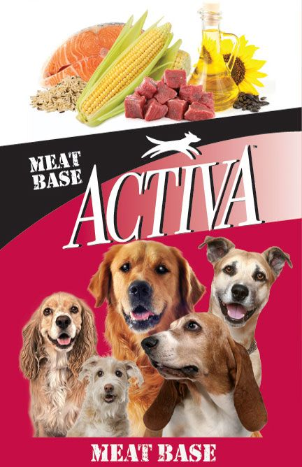Our Activa Meat Base Formula Is Perfect For Dogs Who Prefer A Tastier Alternative To Chicken Based Dog Food Wi Food Animals Premium Dog Food Dog Food Recipes