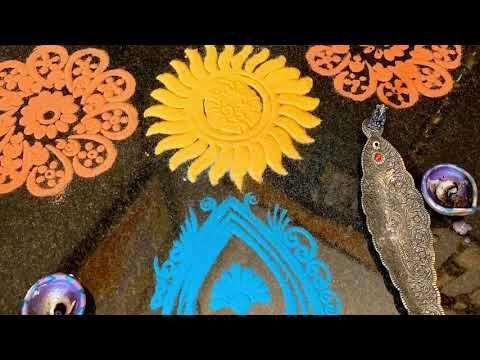Diwali Decor —Ganesha at your Entrance #DiwaliDecor #Rangoli - YouTube #diwalidecorations Diwali Decor —Ganesha at your Entrance #DiwaliDecor #Rangoli - YouTube #diwalidecorations