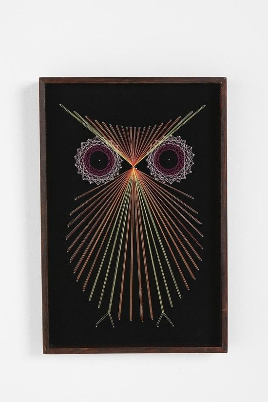string art by martha home pinterest clous cordes et tableau de. Black Bedroom Furniture Sets. Home Design Ideas