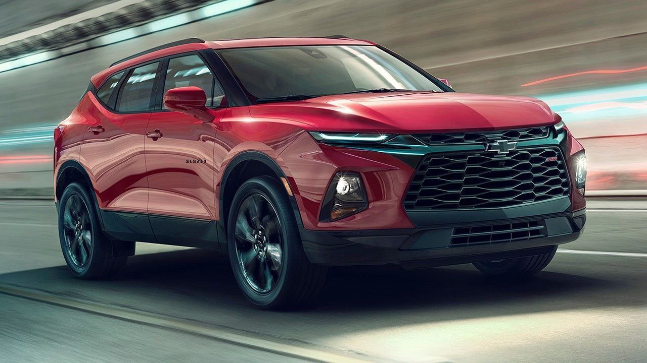Chevrolet Blazer Rebooted As Crossover Suv Chevrolet Blazer