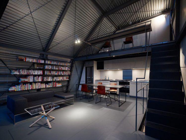 20 Häuser mit schönen modernen Mezzanine-Designs #designs ...