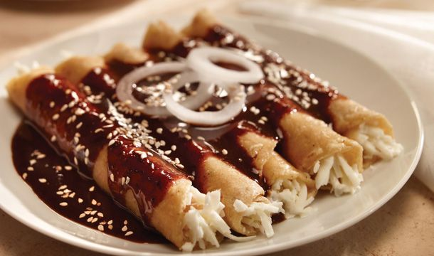 Enchiladas de mole | Recetas mexicanas, Receta de mole ...