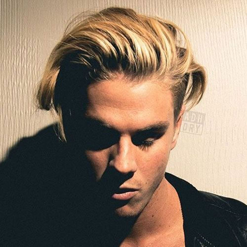 Tapered Sides With Textured Top Long Hair Styles Men Haircuts For Men Cool Hairstyles