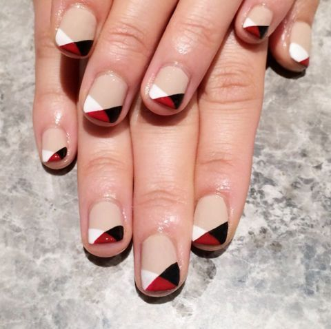 The Coolest Nail Art Ideas For Fall 2017 Triangles Nail Trends