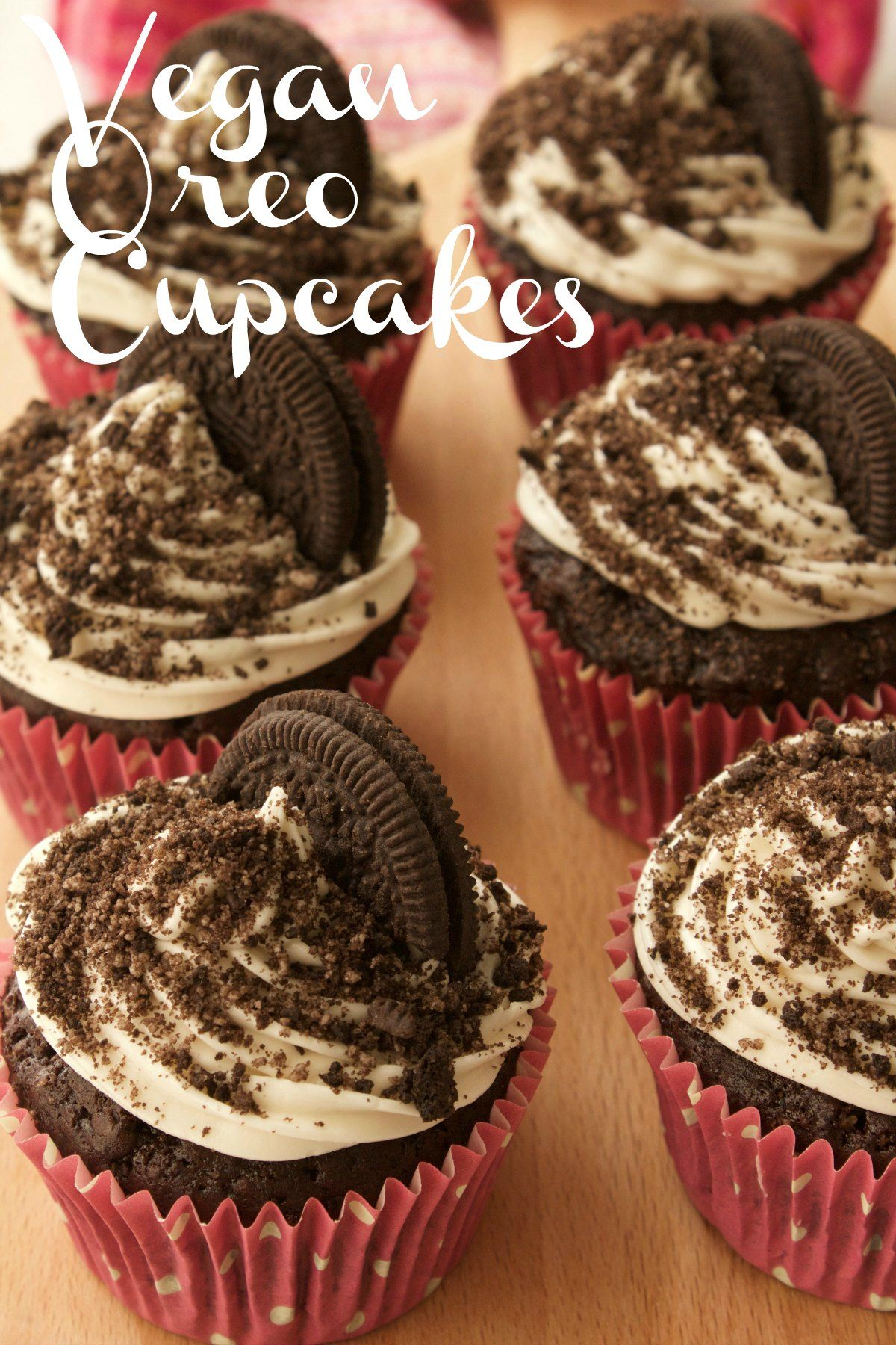 Rich And Moist Vegan Oreo Cupcakes With Vanilla Frosting Oreo Sprinkles And An Entire Oreo Cooki Vegan Chocolate Cupcakes Vegan Cupcakes Vegan Dessert Recipes