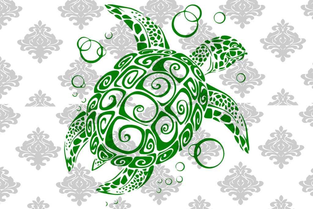 How To Get A Sea Turtle SVG File