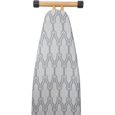 House Candie Scorch Resistant Ironing Board Cover & Pad, Beige