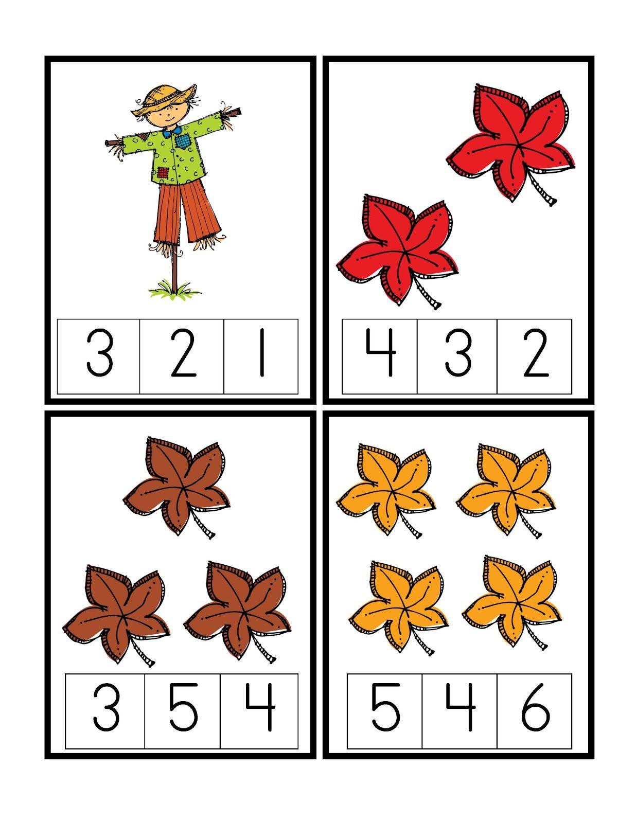Preschool Printables Autumn Werkjes Werkbladen Lesideeen [ 1600 x 1236 Pixel ]