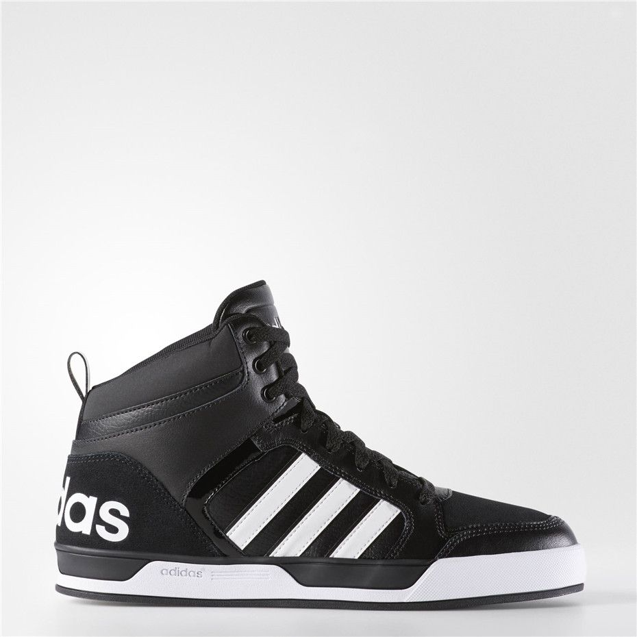 These men's adidas Raleigh mid-top basketball shoes offer a throwback look  to keep your athletic style on-trend.